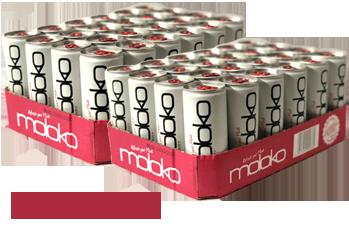 Moloko Cranberry Tray 250ml, 2 x 24